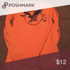 Orange AE thermal TO American Eagle Outfitters Shirts Tees - Long Sleeve
