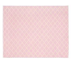 Addison Rug 8x10' Light Pink