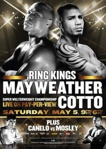 Live May 5 Floyd Mayweather vs. Miguel Cotto Super Welterweight World Championship Martial, Puerto Rico, Miguel Cotto, Pretty Boy Floyd, May 5, Mgm Las Vegas, Boxing Posters, Movie Posters, Boxing