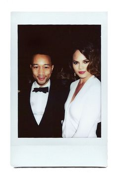 John Legend, Chrissy Teigen... They are BOTH so incredibly good looking they need to have babies like yesterday