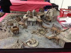 Wargaming terrain at GenCon 2013