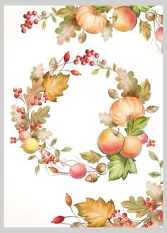 Victoria Nelson - Autumnal Fall Thanksgiving Wreath Alternative