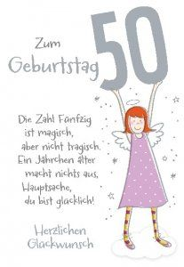 Lustige Geburtstagsspruche Zum 50 Gluckwunsche Versschmiede