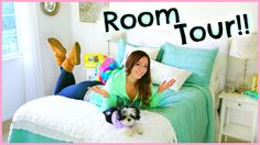 Room Tour!!! 2015 ♡ Alisha Marie (very simple but cute)