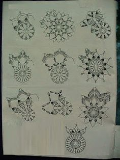 Galeria rozmaitości: Wzory szydełkowe-Boże Narodzenie Crochet Snowflake Pattern, Christmas Crochet Patterns, Holiday Crochet, Crochet Snowflakes, Doily Patterns, Crochet Patterns Amigurumi, Crochet Diagram, Crochet Chart, Crochet Motif