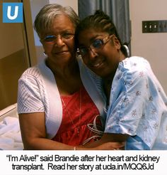 Meet Brandie!  She recently had a heart and kidney transplant at Ronald Reagan UCLA Medical Center.  Check out her story!