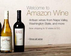 Amazon Launches Wine Marketplace