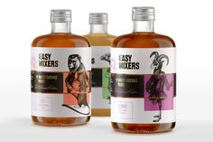 easy-mixers cocktail premix packaging by tsmgo