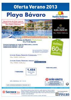 Playa Bávaro (Rep. Dominicana) 60% Grand Bahía Príncipe Ambar y Esmeralda salidas desde Madrid - http://zocotours.com/playa-bavaro-rep-dominicana-60-grand-bahia-principe-ambar-y-esmeralda-salidas-desde-madrid/