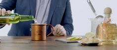 Let Head @Patron Bartender David Alan show you How to Make a Jalisco Mule with Patrón Reposado. #SimplyPerfect