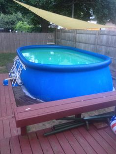 1000 images about my intex pool on pinterest pools for Intex ovale