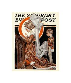 Medieval Easter, c.1924  by Joseph Christian Leyendecker
