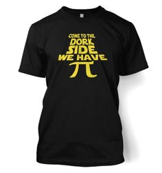 Tv and Film Tshirts By Something Geeky Men's Come To the Dork Side T-Shirt