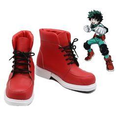 My Hero Academia Izuku Midoriya Cosplay Shoes Izuku Midoriya Cosplay, Deku Cosplay, Cosplay Boots, Cosplay Outfits, Cosplay Costumes, Casual Cosplay, My Hero Academia Merchandise, Anime Merchandise, Hm Outfits