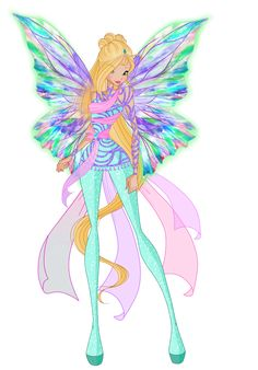 """Here's Bloom's sister -Daphne the Nymph of Magix & Dominoin Dreamix. So far she didn't appear in """"WoW"""" neither in her human or ghost form, let's see if she'll take a part in season ..."""