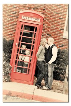 Phone booth, cute idea