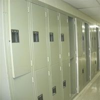 Used Half Door Lockers for sale by American Surplus Inc., your most trusted source for used half door lockers Lockers For Sale, Used Lockers, Warehouse Equipment, Door Locker, Half Doors, Personal Storage, Equipment For Sale, Shelving, Locker Storage