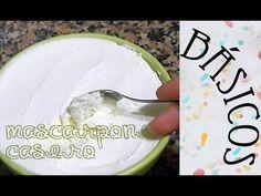 ¡¡Mascarpone casero!! Esta receta fue un experimento que hice hace tiempo por curiosidad, intentando hacer queso de untar, pero en vez de saber a queso de un... Homemade Cheese, Yummy Yummy, Dessert Ideas, Cupcakes, Cooking, Tips, Youtube, Desserts, Recipes