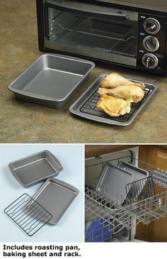 how second from sheets to baked with toaster on get cookware grease cleaning aluminum of baking off these oven clean round