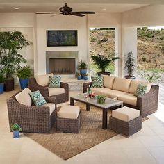 Brandemore 6-piece Seating Set by Mission Hills