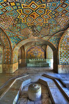 Golestan Palace by Chris R. Hasenbichler