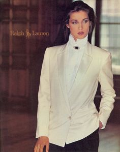 This does not get any better than Ralph Lauren and Model kristin Clotilde Polo Ralph Lauren, Ralph Lauren Style, 80s Fashion, Fashion History, Vintage Fashion, Womens Fashion, Fashion Models, Fashion Outfits, Fashion Trends