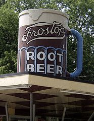 Root beer stand in Springfield, I don't remember ever eating there but always wanted to when we drove by it all the time