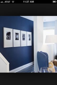 Great idea. Imagine these on a brown wall too!