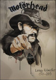 Rock In Peace, Lemmy. Rock In Peace, Lemmy. Rock Posters, Band Posters, Hard Rock, Rock And Roll, See Tattoo, Rock Y Metal, Extreme Metal, Tribute, Heavy Metal Bands