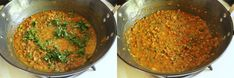 Whole green moong dal recipe - is very easy to make and healthy recipe. It is simmered with onion-tomato and basic spice powders. It is best served with plain steamed rice or roti, paratha. Green Moong Dal Recipe, Dal Palak Recipe, Chili Recipes, Healthy Recipes, Tomato Gravy, Red Chili Powder, Steamed Rice, Pressure Cooking, Indian Food Recipes