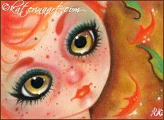 Touch of Autumn Aceo by Katerina-Art.deviantart.com on @DeviantArt
