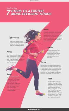 How to Improve Your Running Form // fitness // run // tips // cardio // running technique // marathon training // half marathon // 5K // 10K // running for beginners // Beachbody // http://BeachbodyBlog.com