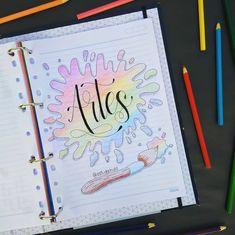 Bullet Journal Banner, Bullet Journal Writing, Bullet Journal School, Bullet Journal Ideas Pages, Bullet Journal Inspiration, Book Journal, Lettering Tutorial, Hand Lettering, Notebook Drawing
