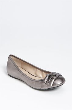 Beautiful Shiny Franco Sarto flat on sale at Nordstrom. Ohhh if only the hubby wouldn't kill me for getting another pair of shoes.