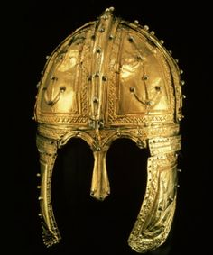 """A gilded silver equestrian helmet a true """"masterpiece"""" . The parade helmet was probably used by a senior officer in Rome, 300 A.D."""