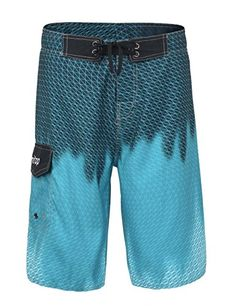 JERECY Mens Swim Trunks Old Retro Autio Tapes Pattern Quick Dry Board Shorts with Drawstring and Pockets