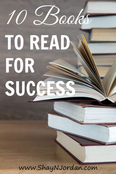 Success isn't just about saying you want to be successful. You need to have the mindset and know what actions to take. Find out my favorite books here.