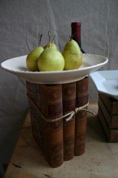 Serving idea for Book Club treats.....