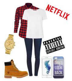 """""""Skyward Hepburn"""" by tayeisbi25 on Polyvore featuring Frame Denim, Timberland, Lacoste, MaxMara, women's clothing, women, female, woman, misses and juniors"""