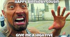 Happy Birthday Cousin Meme If the birthday of someone very special is approaching and you do not know how to devote and dedicate right words. Happy Birthday Cousin Meme, Birthday Memes For Men, Birthday Man Quotes, Birthday Wishes For Girlfriend, Happy Belated Birthday, Singing Happy Birthday, Men Quotes Funny, Funny Memes, All Meme