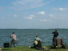 South of Czech republic fishing competition, pond Rožmberk