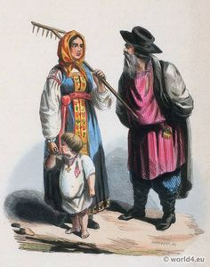 Costumes of Inhabitants of Little Russia, Ukrainian 1840. Description from world4.eu. I searched for this on bing.com/images