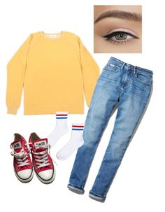 """School Days"" by burnttoasts on Polyvore featuring Afield, Calvin Klein, Topshop and Converse"