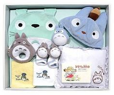 Baby Gift Set of My Neighbor Totoro Studio Ghibli Anime from Japan New | eBay