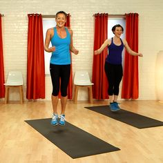 """""""A 10-Minute Workout to Get the Blood Pumping!"""" oh my, this is by far my favorite cardio workout!"""