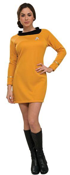 Deluxe Star Trek Gold Dress Adult Costume ~ Costume Craze $36.30