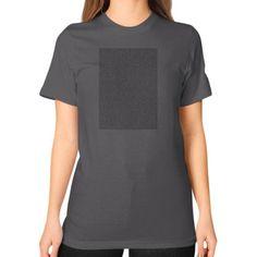 Bee Movie Script Unisex T-Shirt (on woman)