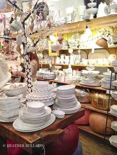 (A través de CASA REINAL) >>>>  John Derian & French porcelain company Astier de Villette collaboration.