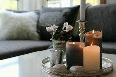 Candles everywhere!