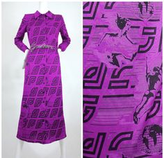Vintage JEAN PAUL GAULTIER Olympic Print Monogram Dress